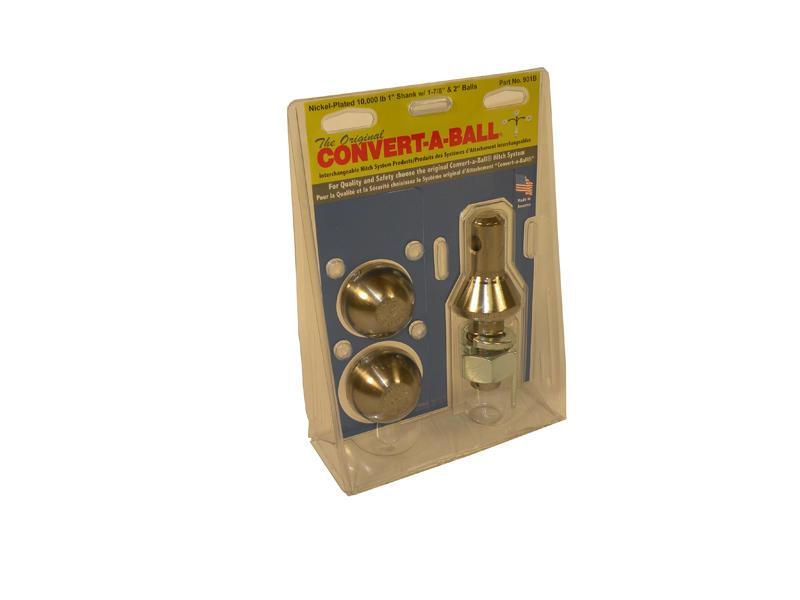 """Convert-A-Ball 2-Ball Set - 1-7/8"""" & 2"""" Inch Balls"""