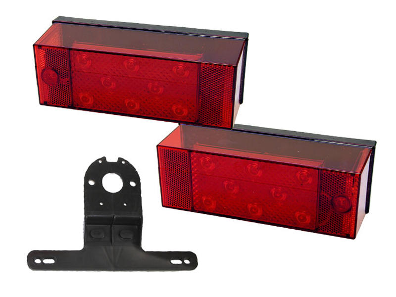 "LED Trailer Light Kit For Trailers Over 80"" Wide"