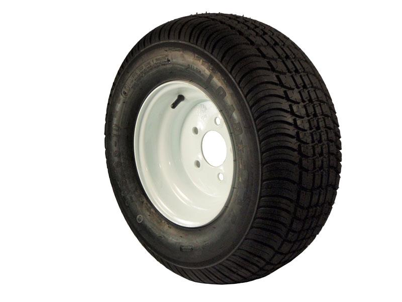 10 inch Trailer Tire and Wheel Assembly