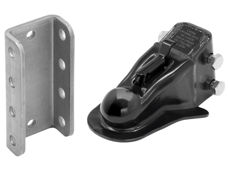 2 Inch Adjustable Stamped Coupler w/Channel and Hardware