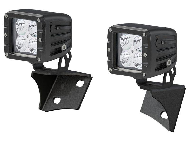 Jeep Windshield Lights and Brackets