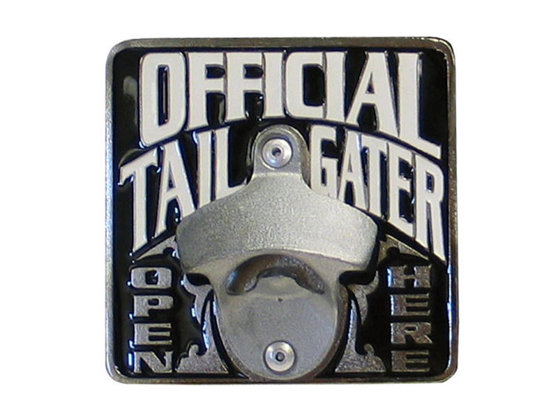 Official Tailgater Hitch Cover with Bottle Opener