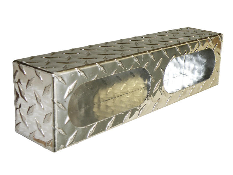 Aluminum Diamond Plate- Dual Light Mounting Box
