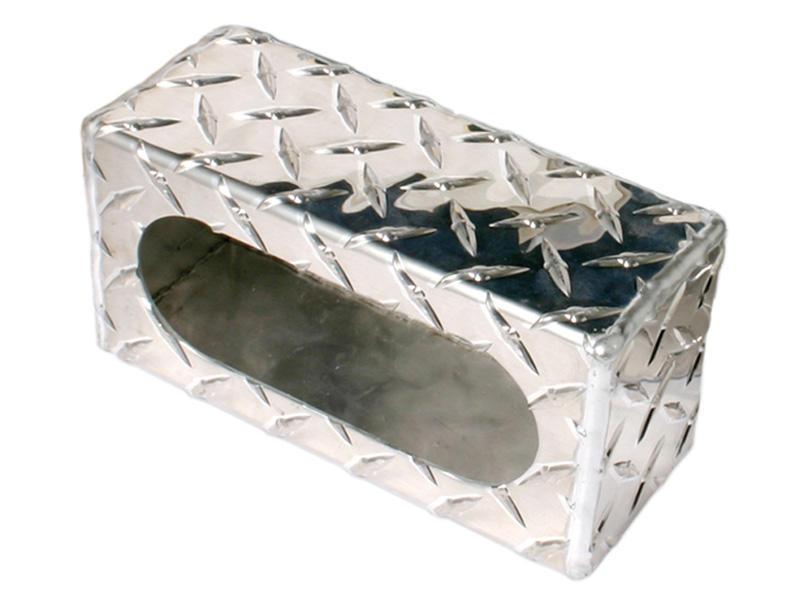 Aluminum Diamond Plate- Single Light Mounting Box