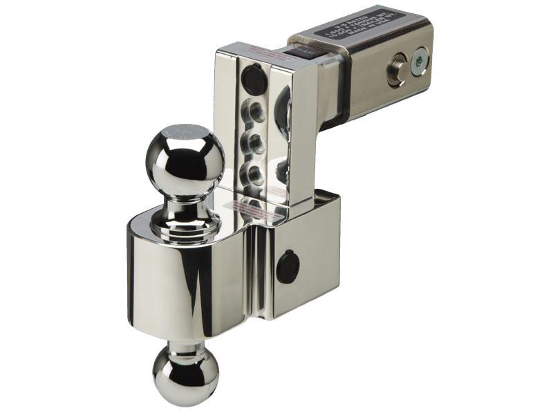 FastWay Self-Locking Adjustable 2-1/2 inch Billet Aluminum Ball Mount