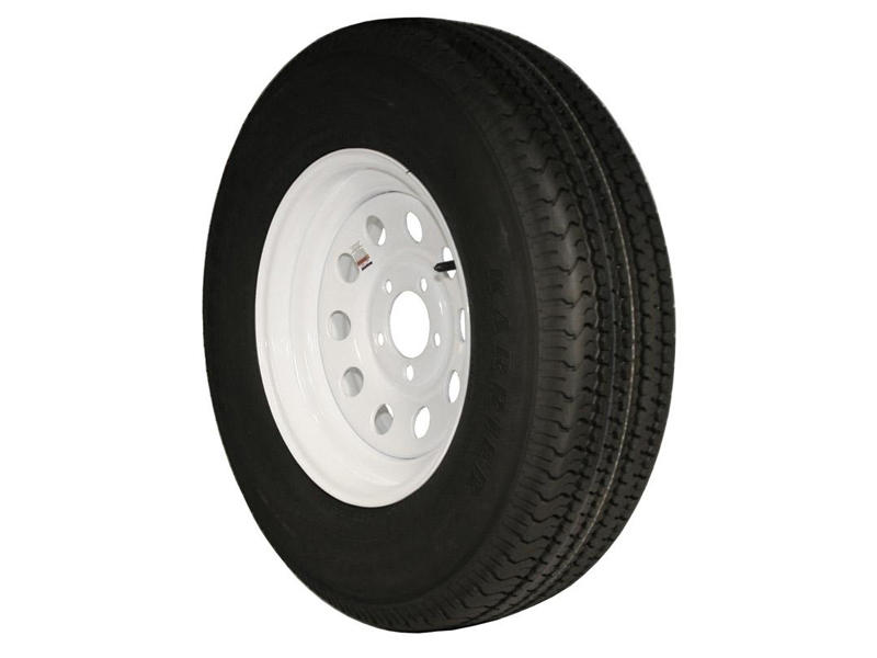 15 inch Trailer Tire and Modular Wheel Assembly