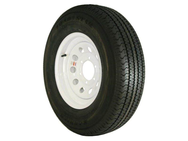 16 inch Trailer Tire and Modular Wheel Assembly