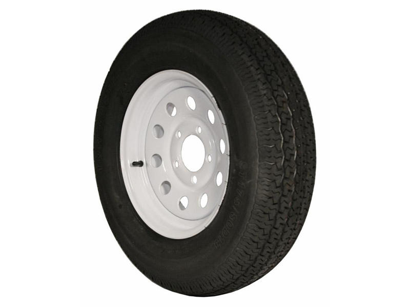 13 inch Trailer Tire and Modular Wheel Assembly