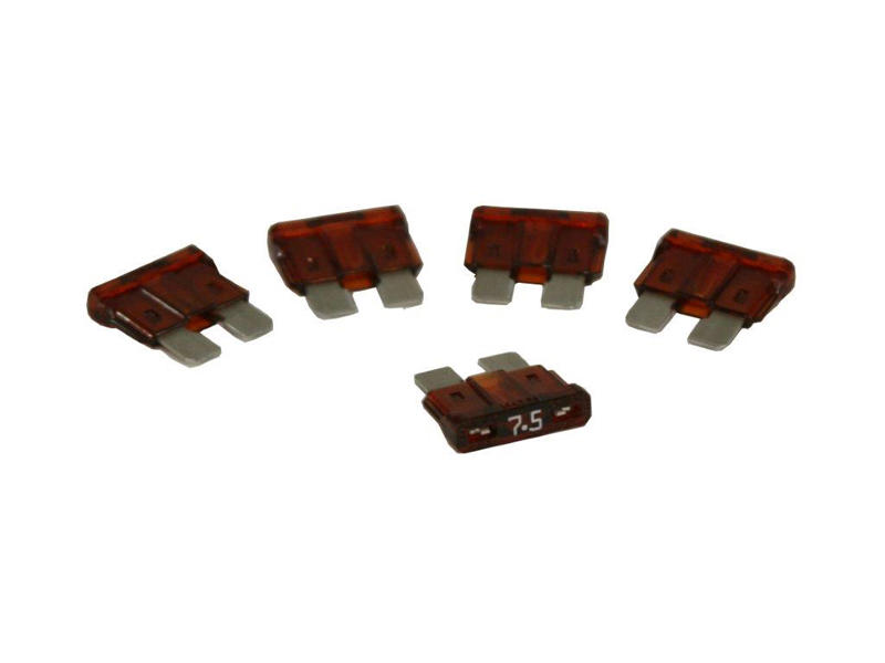 ATC Style 7.5 Amp Fuse - 5 Pack