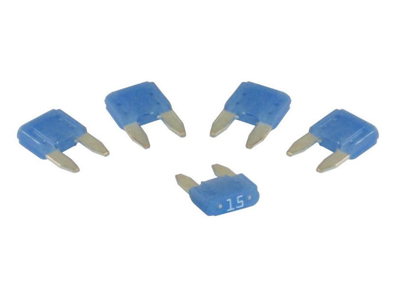Mini Blade-Type Fuses - 15 Amp