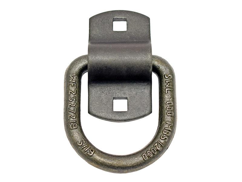 Heavy Duty Tie-Down D-Ring - 10-Pack