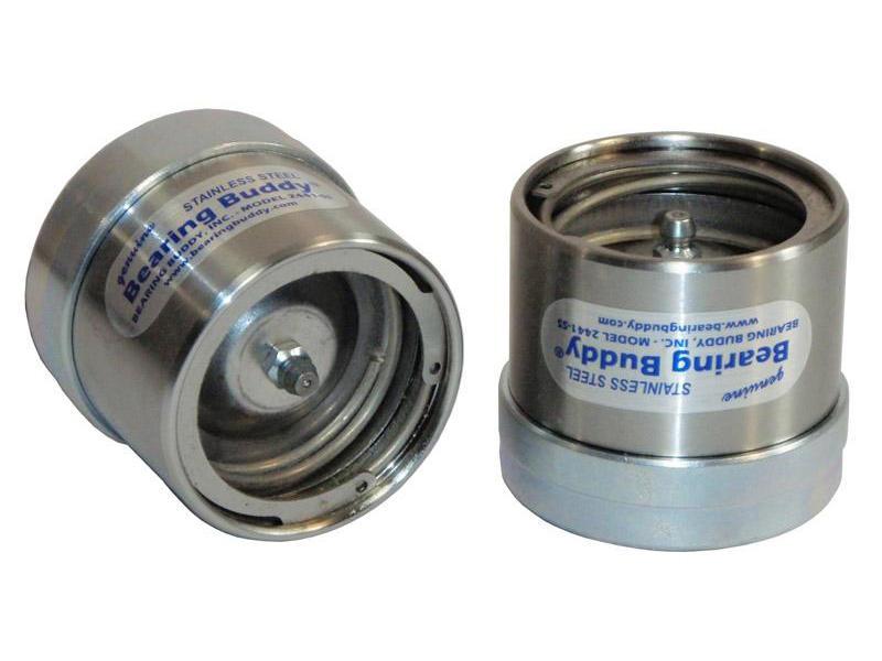 """Bearing Buddy® Stainless Steel Bearing Protectors (pair) - 2.441"""" Diameter"""