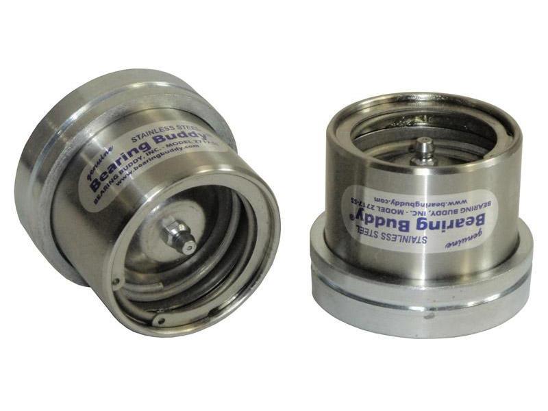 """Bearing Buddy® Stainless Steel Bearing Protectors (pair) - 2.717"""" Diameter"""