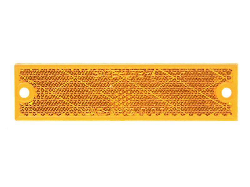 Compact Rectangular Reflector- Amber