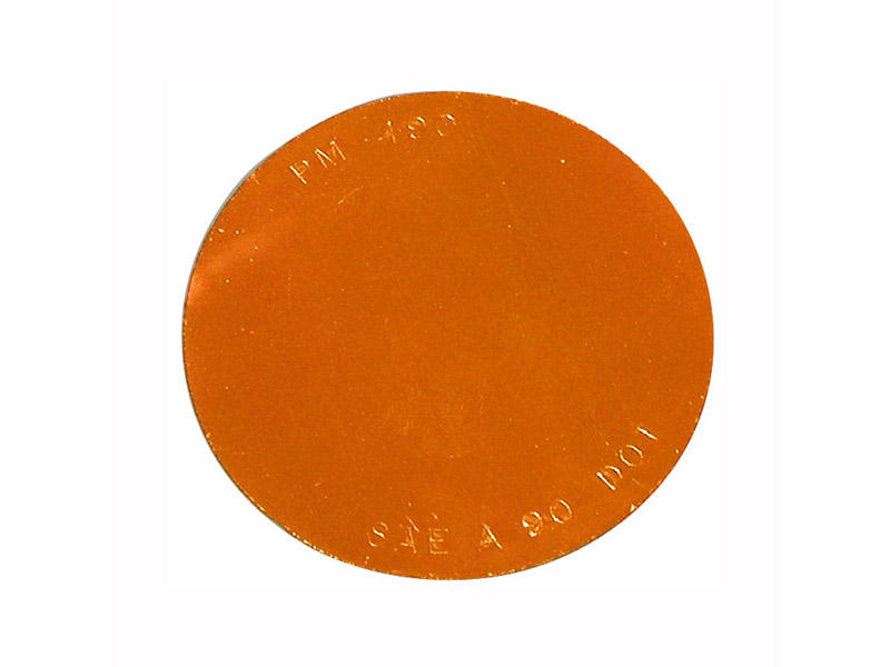 Quick Mount Round Reflector - Amber