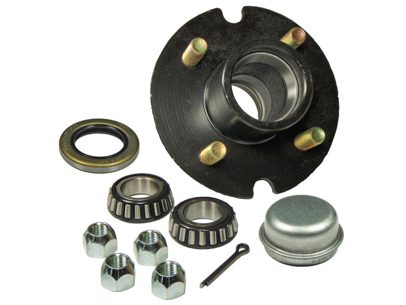 Trailer Hub Assembly - 1 inch I.D. Bearings