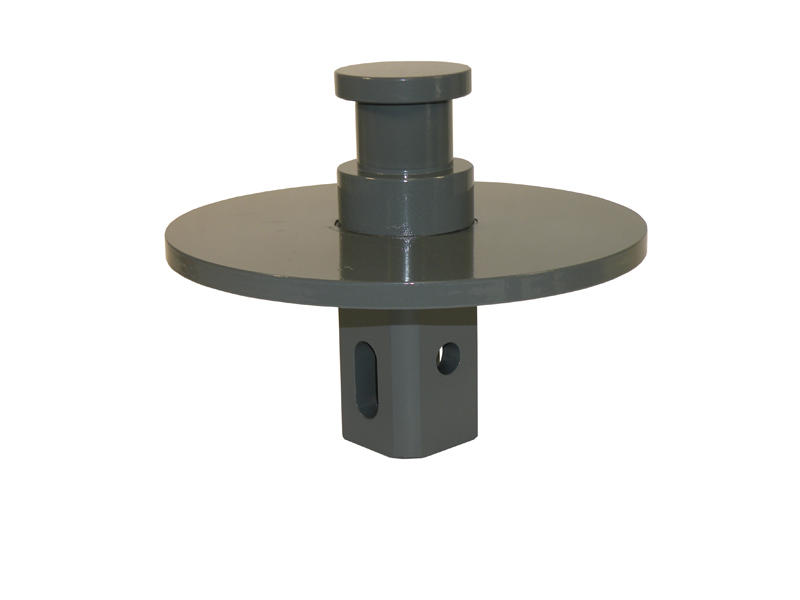 B&ampW Turnoverball King Pin Adapter For Inverted 5th Wheel Trailers
