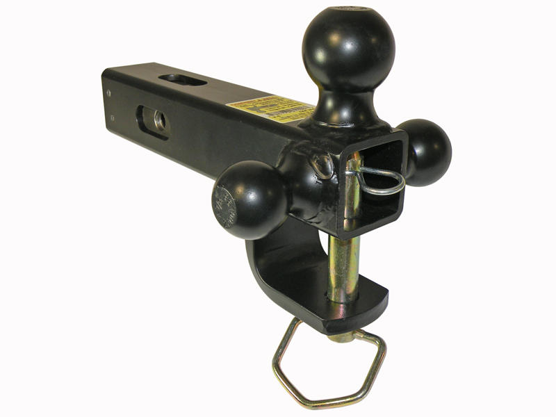 Cushioned 6-Way Multi-Hitch for 2-1/2 Inch Receivers