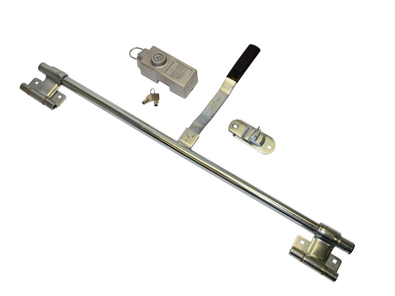 Trailer Side Door Lock With Padlock