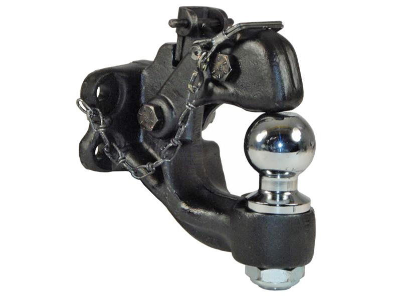 Combination Pintle Hook with 2 inch Ball