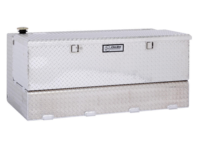 DeeZee Aluminum Combination Transfer Tank & Tool Box For 8' Beds