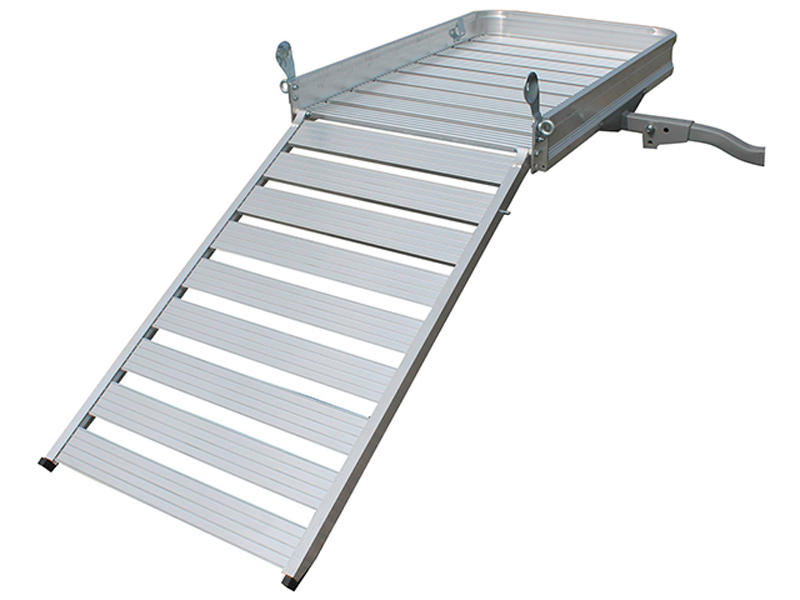 Deluxe Aluminum Cargo Carrier With Ramp