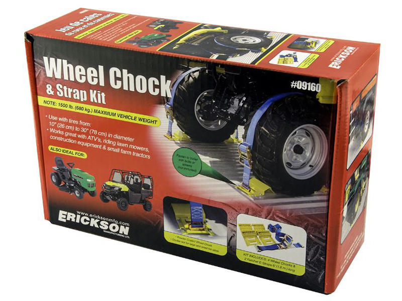 Wheel Chock Tie-Down Kit