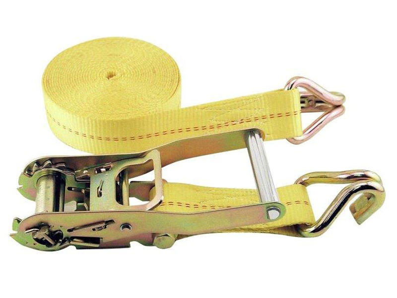 2 inch x 40' Ratchet Strap Tie Down With Strap Trap