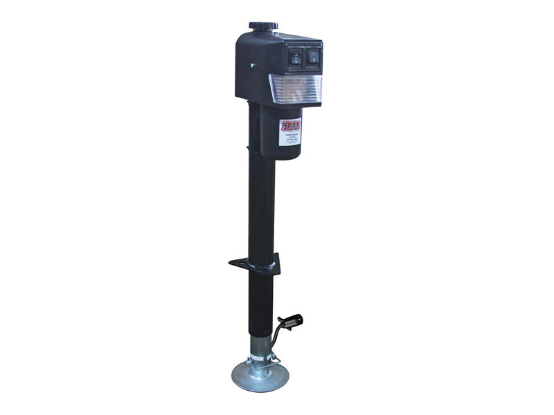 RAM Electric Tongue Jack With 7-Way RV Style Plug