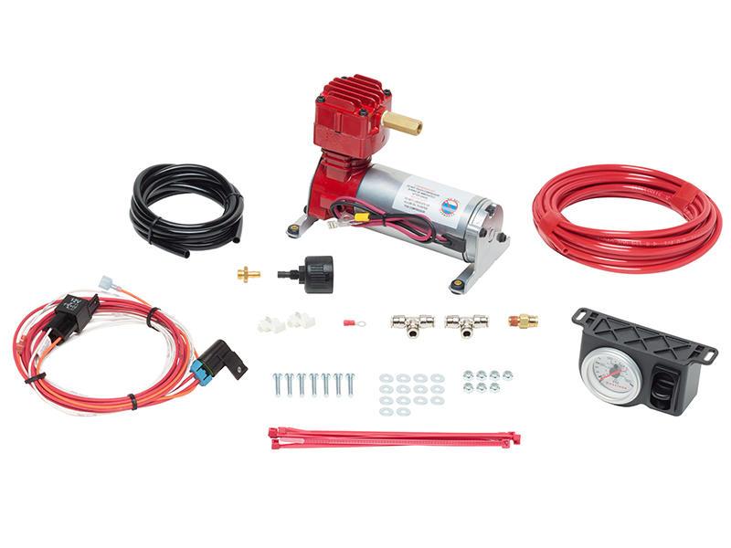 Firestone AirCommand Compressor System - Heavy-Duty Single Leveling System