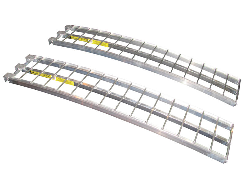 Arched Aluminum Loading Ramps 5 feet x 12""