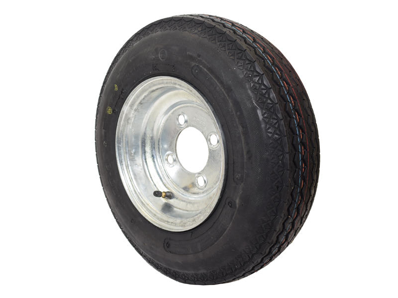 8 inch Trailer Tire and Wheel Assembly