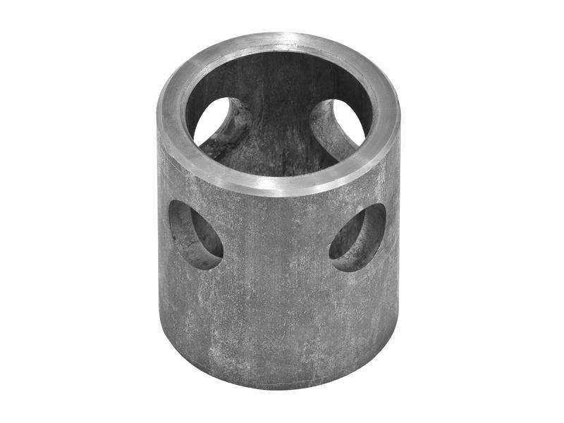 Weld-On Male Tubular Mount for Swivel Jacks