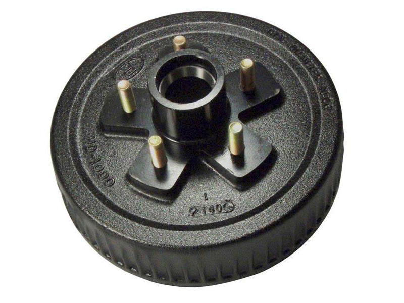 """Trailer Hub-Drum For 1-3/8"""" To 1-1/16"""" Tapered Spindles"""
