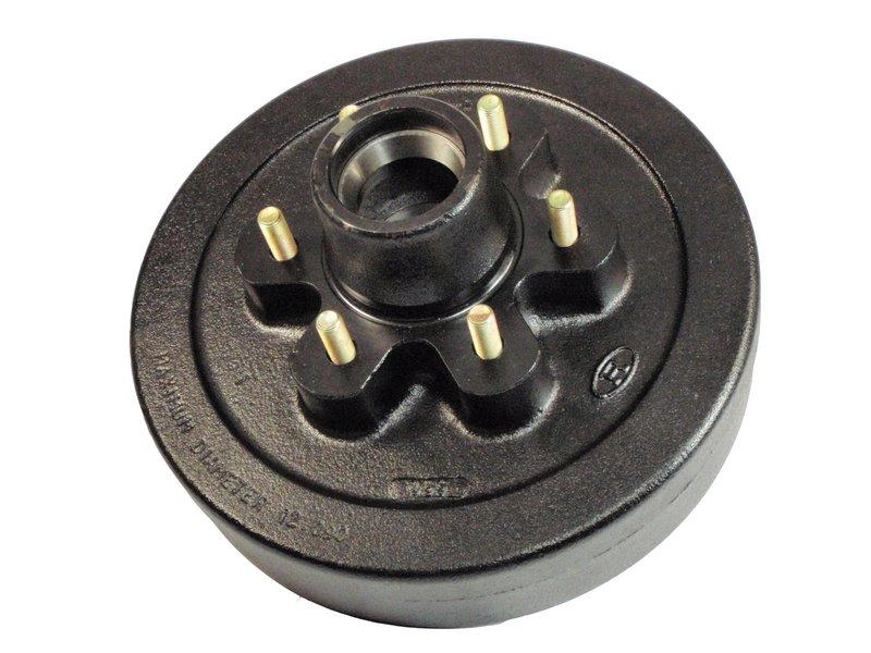 "Trailer Hub-Drum For 1-3/4"" To 1-1/4"" Tapered Spindles"