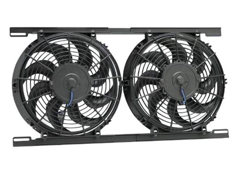 Hayden Dual Electric Fan Kit
