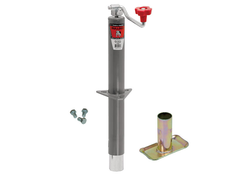 Heavy Duty A-Frame Trailer Jack With Foot And Mounting Hardware