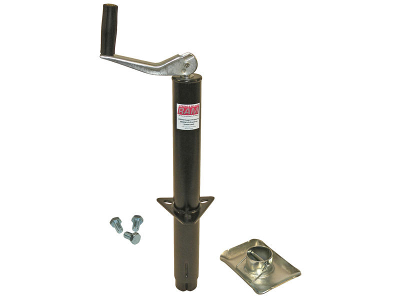 A-Frame Trailer Jack With Foot And Mounting Hardware