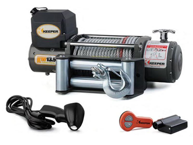 Keeper KW13.5 12 Volt Winch