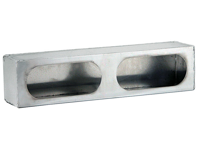 Stainless Steel- Double Oval Mounting Box