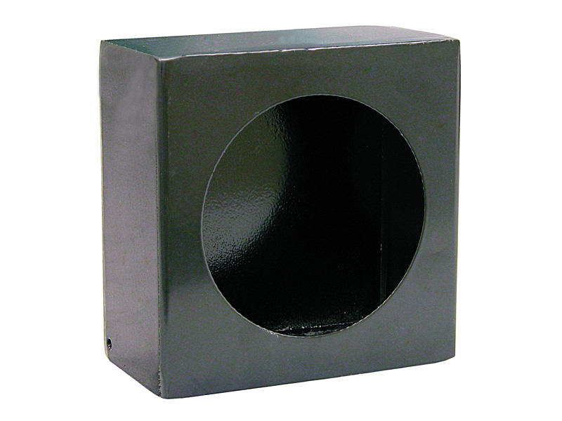 Steel-Black Mounting Box For 4 Inch Round Lights