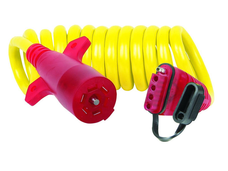 7-Way / 5-Flat Coiled Extension