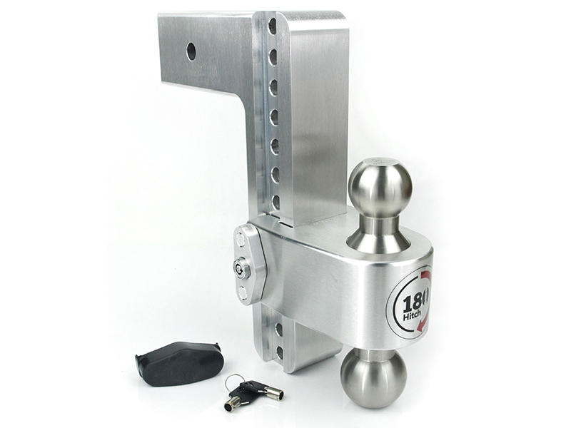 Weigh Safe 180° Hitch For 3 Inch Ford Receivers