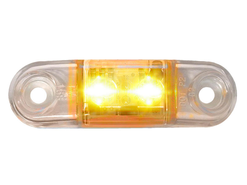 Clear Mini - Clearance/Side Marker Light- Amber