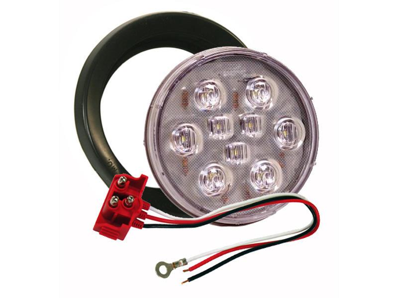 4 inch Round LED Back-Up Light Kit