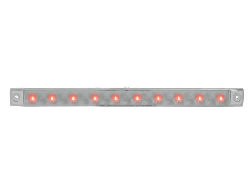 Surface Mount Clear Strip Light- Stop/Turn/Tail