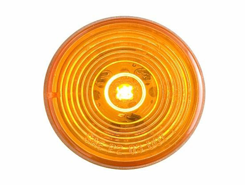 "2"" Round Sealed LED Marker/Clearance Light- Amber"