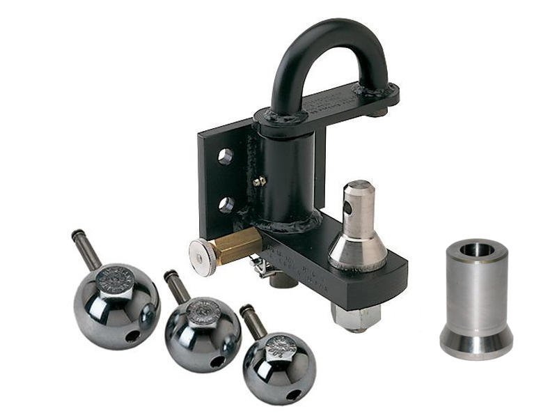 Pintle Hook with Interchangeable Stainless Steel Balls