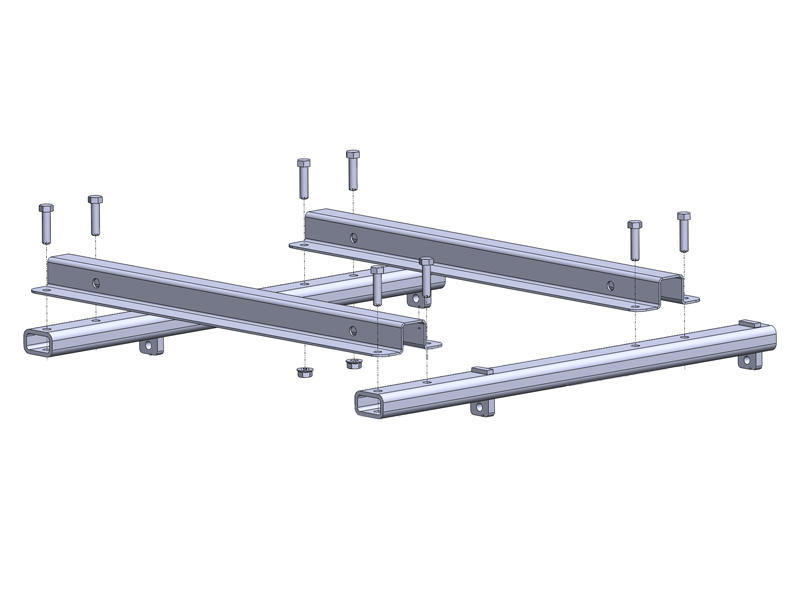 SuperGlide Industry Standard Rail Adapters