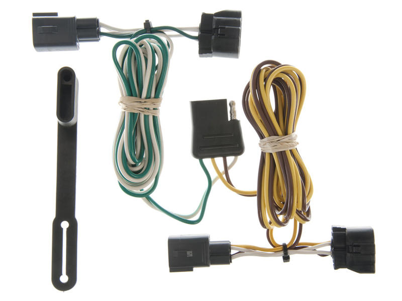 Rigid T-Connector Custom Wiring, 4-Way Flat Output, Select Dodge Dakota